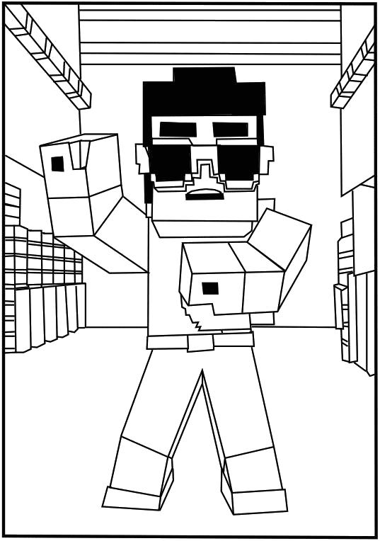 Раскраски Майнкрафт Раскраски Майнкрафт. Раскраски персонажей компьютерной игры Раскраски Майнкрафт