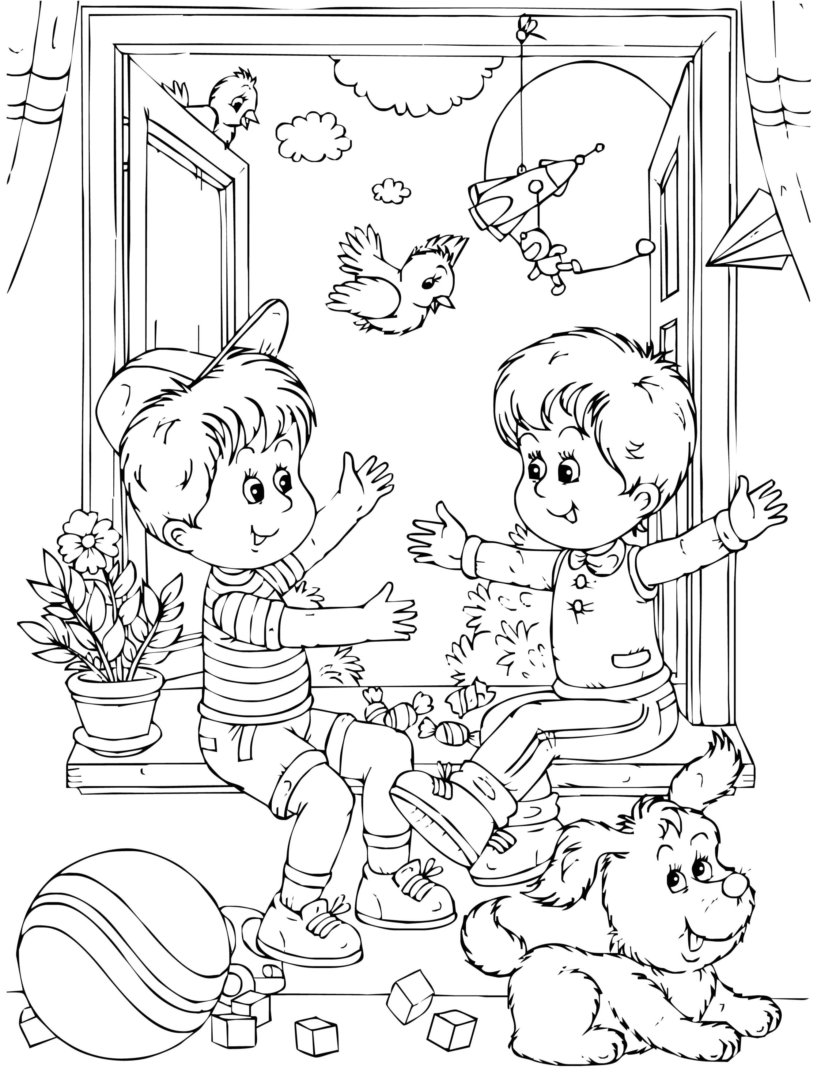 Раскраски Дружба Раскраски Дружба, раскраски для подростков про дружбу