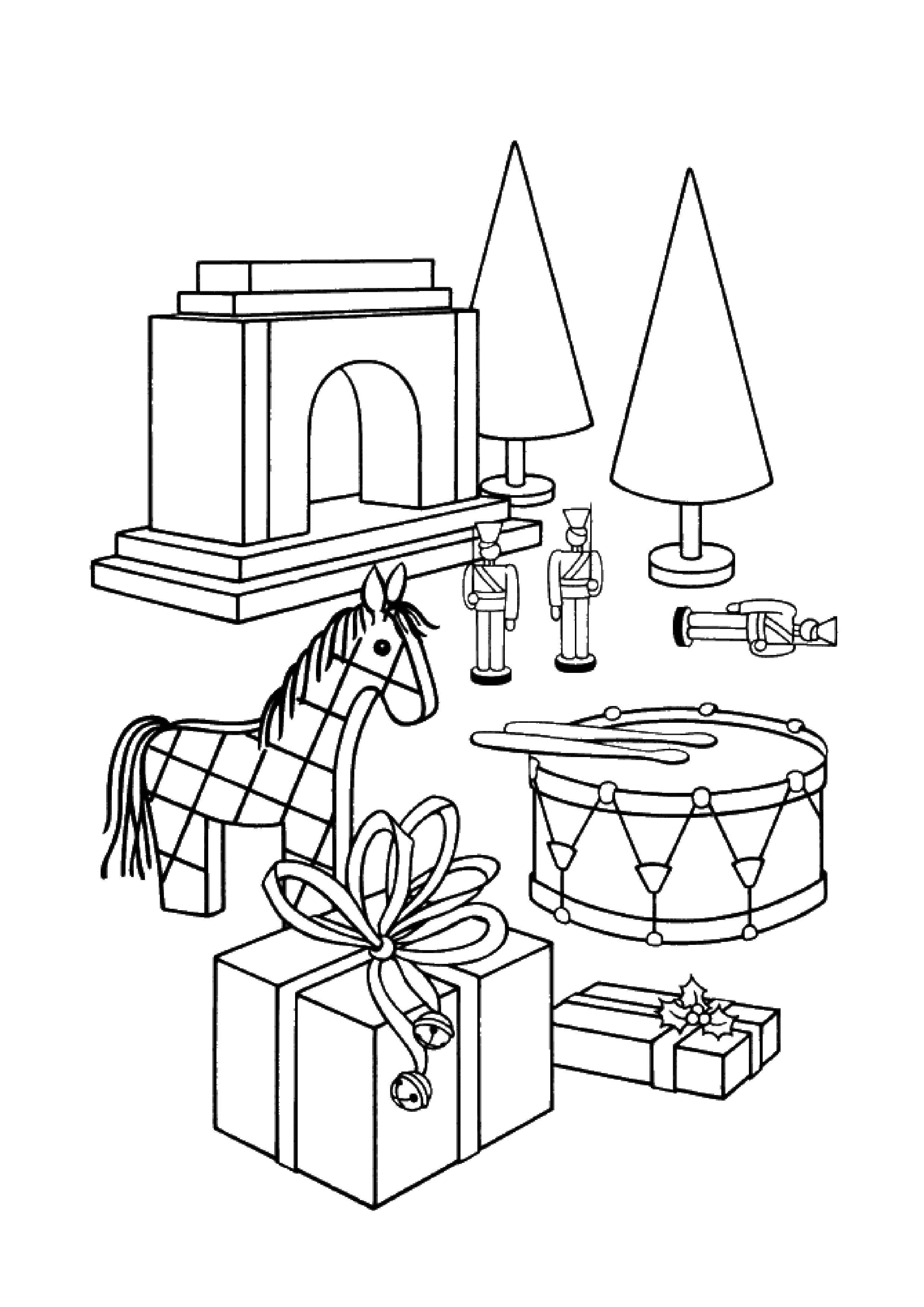 Раскраски Игрушки Раскраски Игрушки, раскраски для детей про игрушки, раскраски для малышей