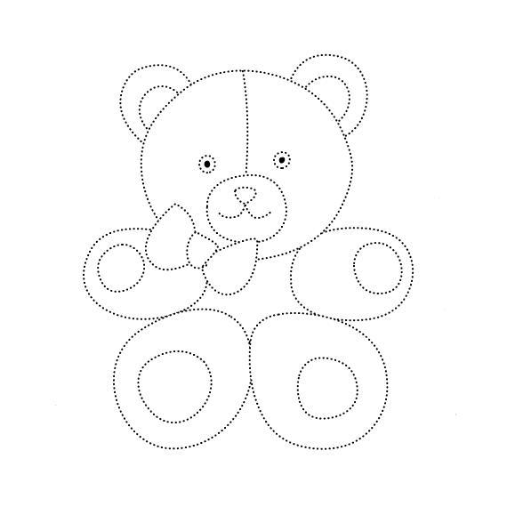 Раскраски по точкам  Раскраски по точкам. Раскраски для раннего развития детей