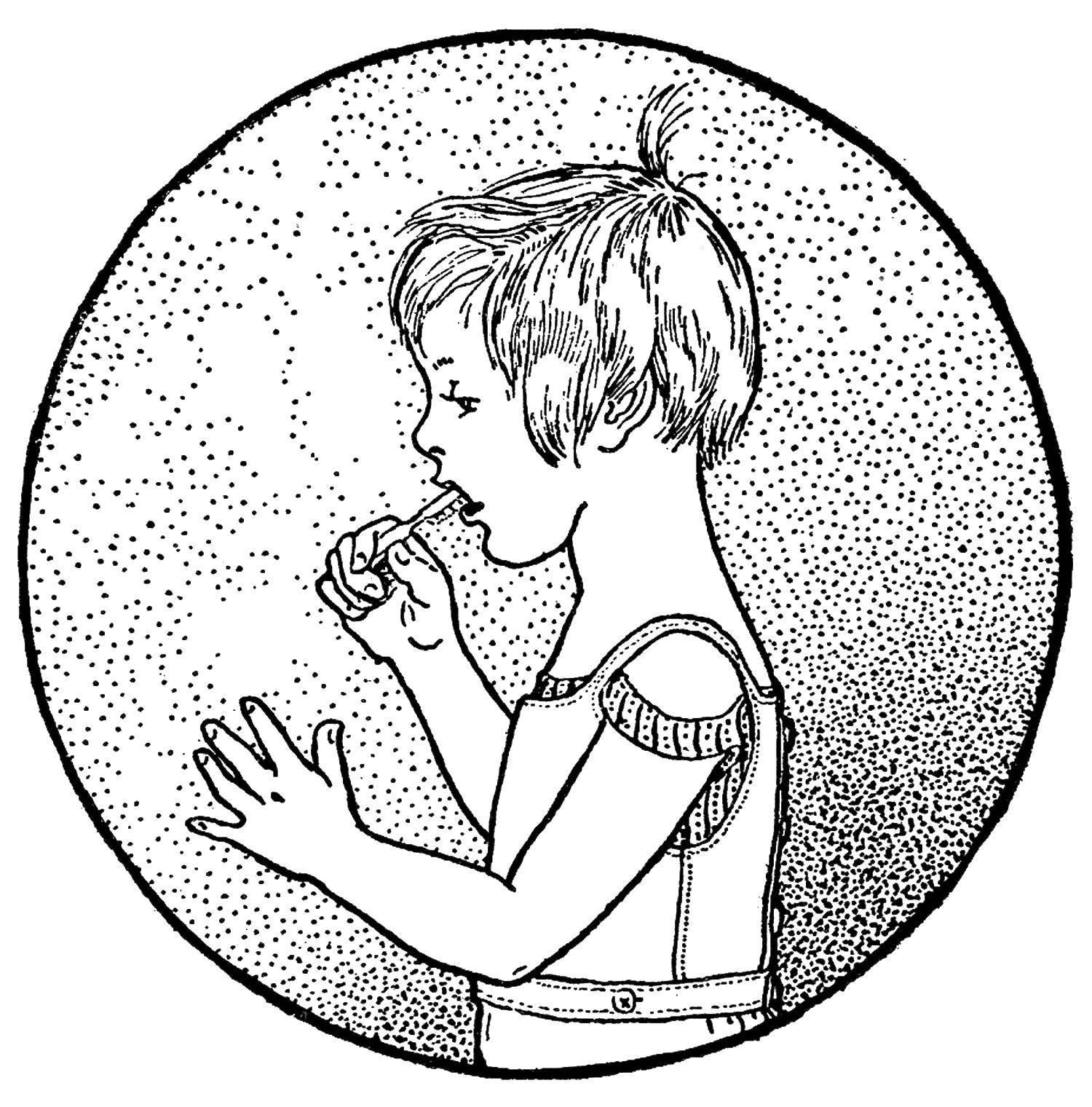 Раскраски здоровый образ жизни Раскраски про здоровый образ жизни для детей в детский сад
