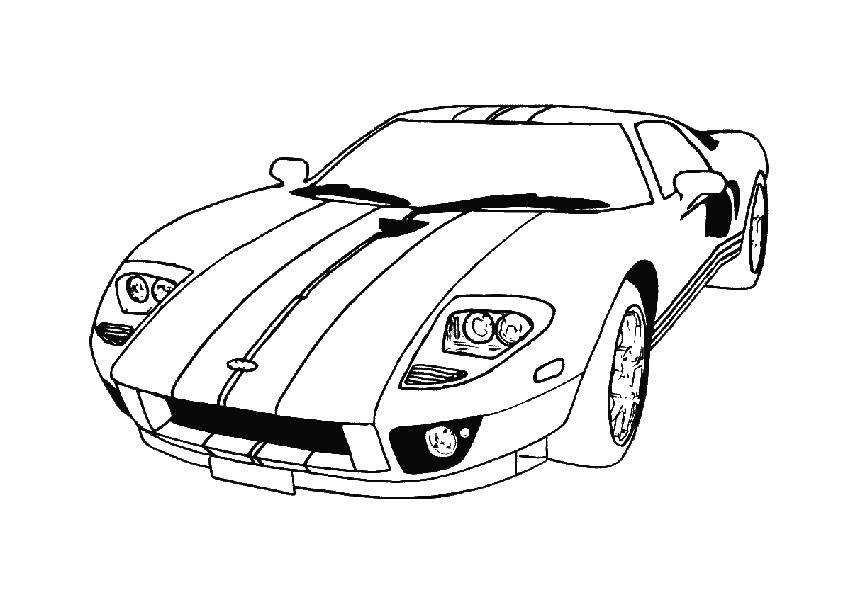 Раскраски спортивные машины Раскраски спортивные машины, раскраски для мальчиков с супер карами