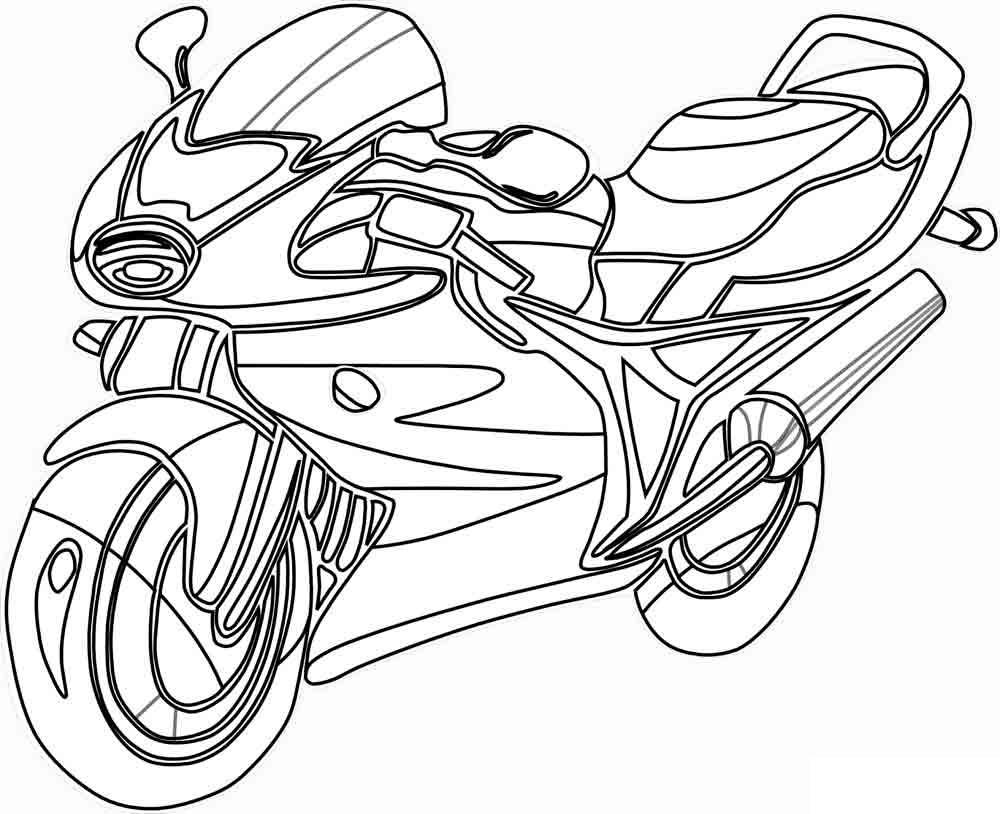 Раскраски мотоциклы Раскраски мотоциклы, раскраски мотоциклист
