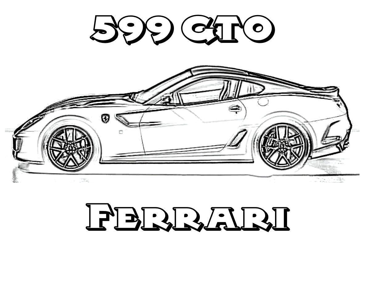 Раскраски машины Ferrari Раскраски машины Ferrari, раскраски машин феррари