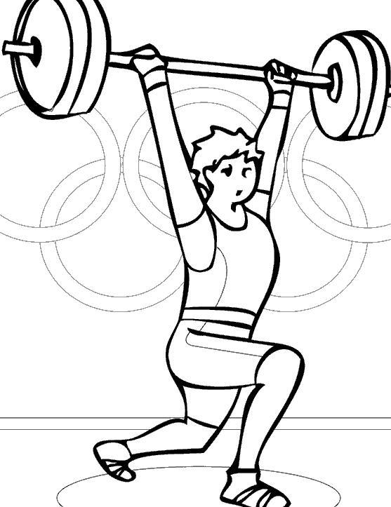 Раскраски тяжелая атлетика Раскраски тяжелая атлетика, раскраски атлет, соревнования