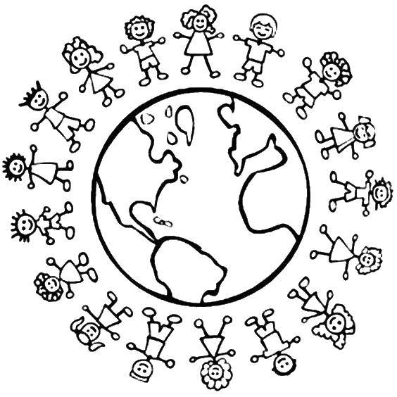 Раскраски Праздник единства народа Казахстана Раскраски Праздник единства народа Казахстана, раскраски 1 мая, раскраски день дружбы народов