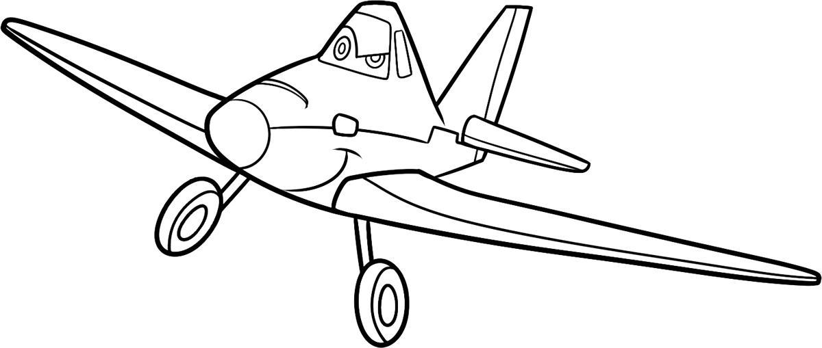 раскраски по мультфильму самолеты от дисней