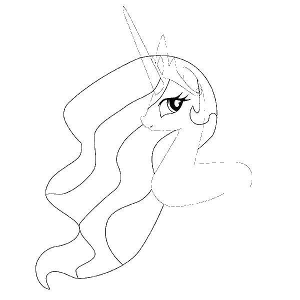 раскраски с пони из мультика дружба это чудо май литл пони