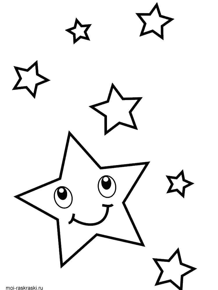 раскраски звездопад звезды звездное небо раскраски ...