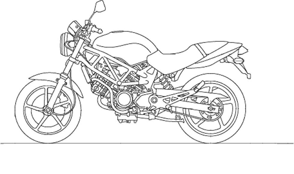 Раскраски с различными видами транспорта, в частности с мотоциклами. Интересные раскраски для детей на тему мотоциклы.