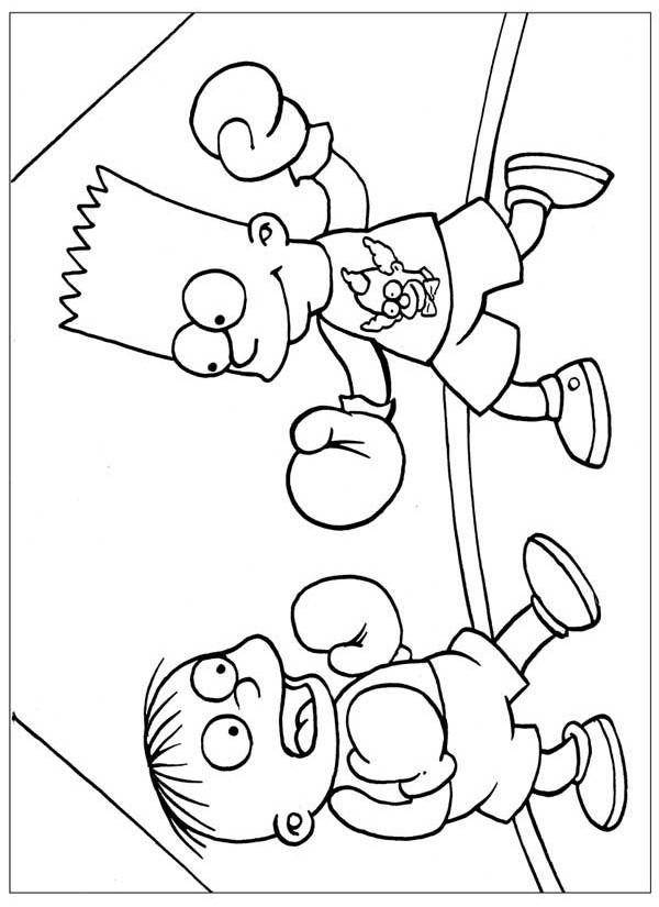 Раскраски для детей с боксерами. Спортивные раскраски для детей.  Скачать бесплатные раскраски для детей. Раскраски детские онлайн бесплатно. Раскраски для детей с боксерами. Спортивные раскраски для детей. Бесплатные детские раскраски.