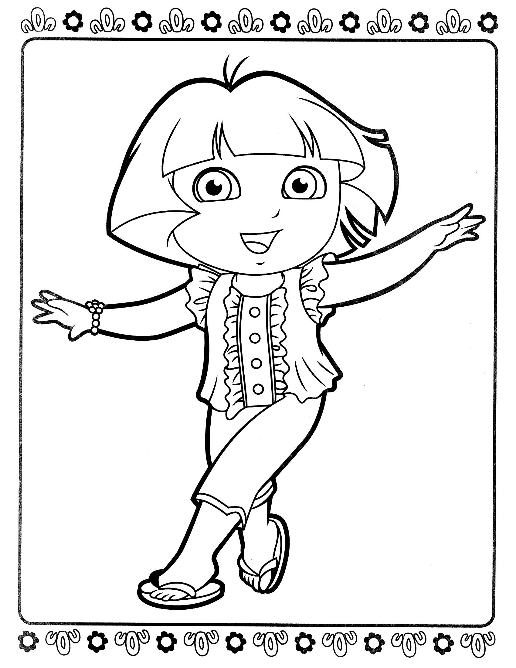 раскраски для девочек детские раскраски с изображениями ...