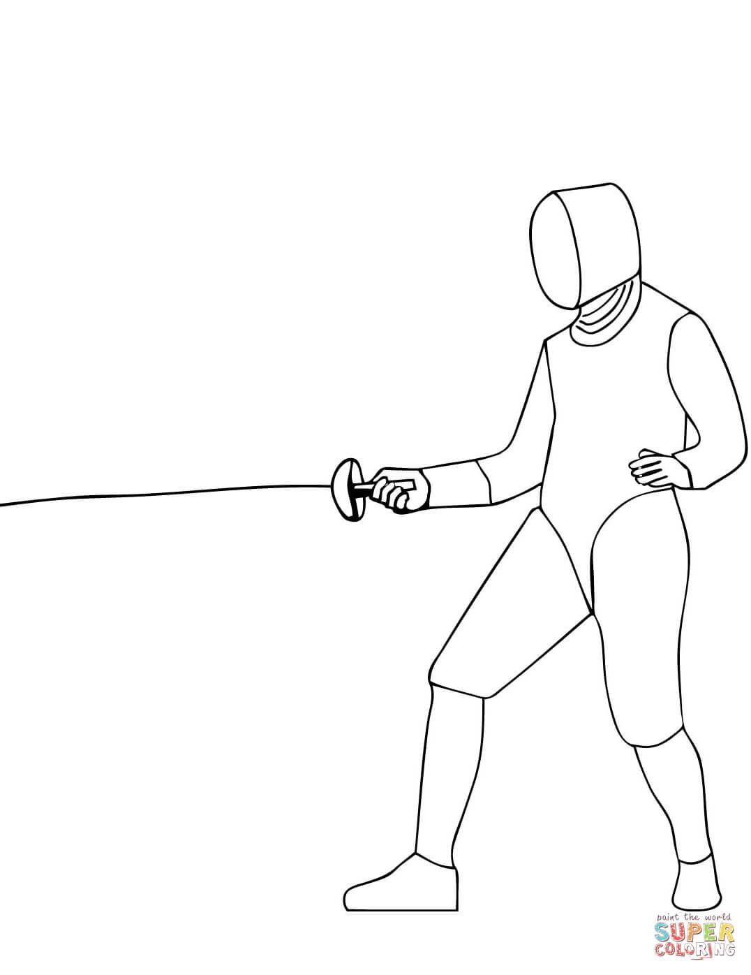 раскраски на тему фехтование            раскраски на тему фехтование для мальчиков и девочек.  раскраски с фехтовальщиками для детей и взрослых