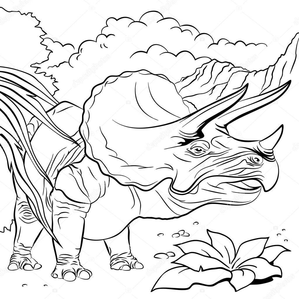 Раскраски с трицератопсом. Раскраски с динозаврами бесплатно. Скачать бесплатные раскраски  с динозаврами. Раскраски для детей онлайн бесплатно. Раскраски с трицератопсом. Раскраски с динозаврами бесплатно. Бесплатные детские раскраски.