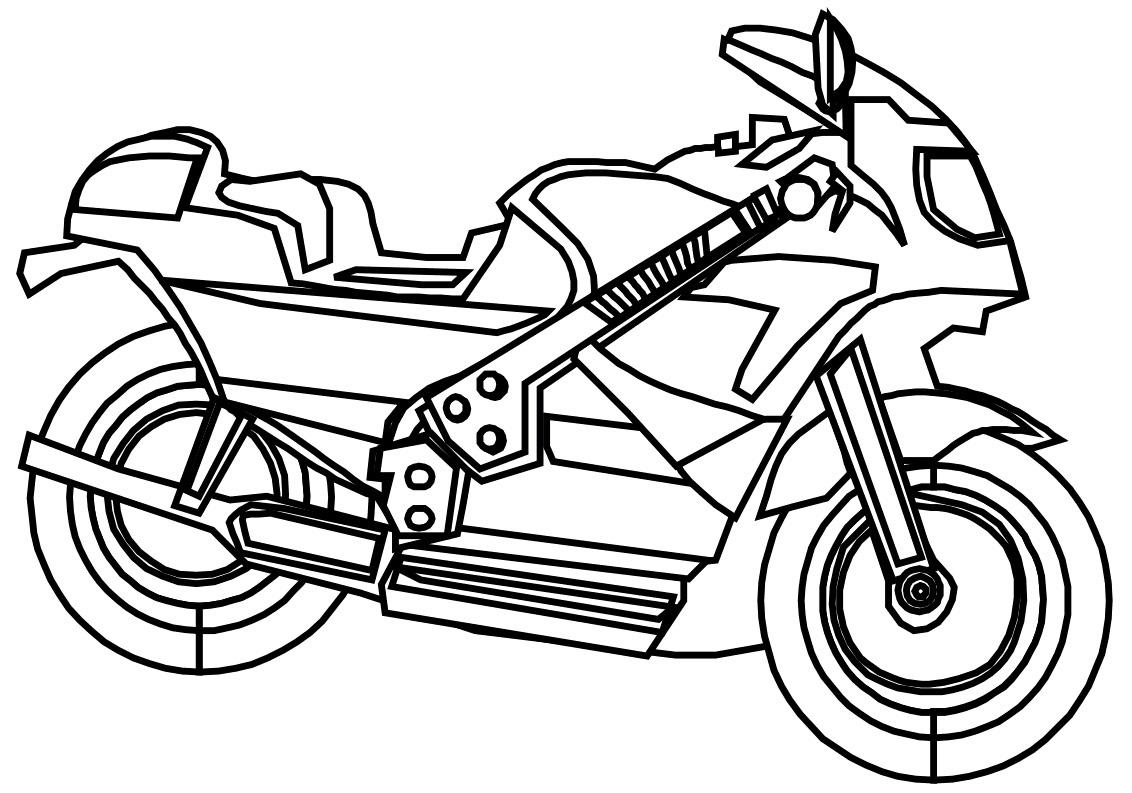 Раскраски для мальчиков разного возраста на тему мотоциклы.  Раскраски с различными видами транспорта, в частности с мотоциклами. Интересные раскраски для детей на тему мотоциклы.
