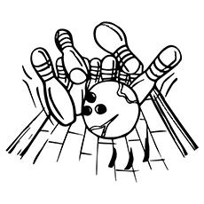 Интересные  и  забавные раскраски на тему боулинг             раскраски на тему боулинг для детей и взрослых. Раскраски с кеглями и шаром для боулинга. Раскраски на тему боулинг для детей. Для взрослых.