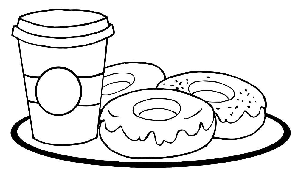Раскраски для детей с едой . Раскраски для детей скачать. Скачать бесплатные раскраски для детей еда. Раскраски детские окружающий мир.Бесплатные детские раскраски.