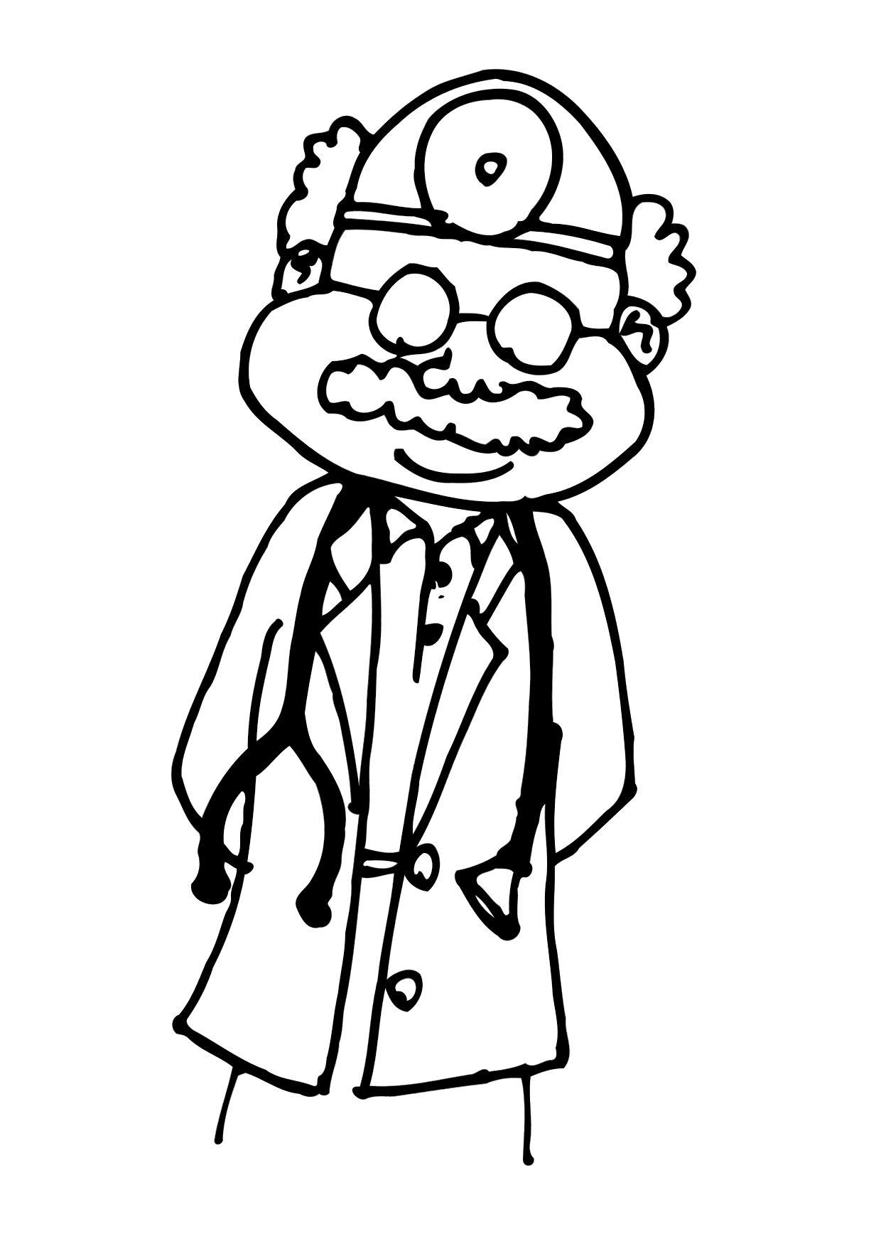 День врача - праздник в больнице. Врачи нас лечат.            Врачи нас лечат, их не стоит бояться. день врача - хороший праздник. Раскрась красочно одну из раскрасок и подари своему врачу!