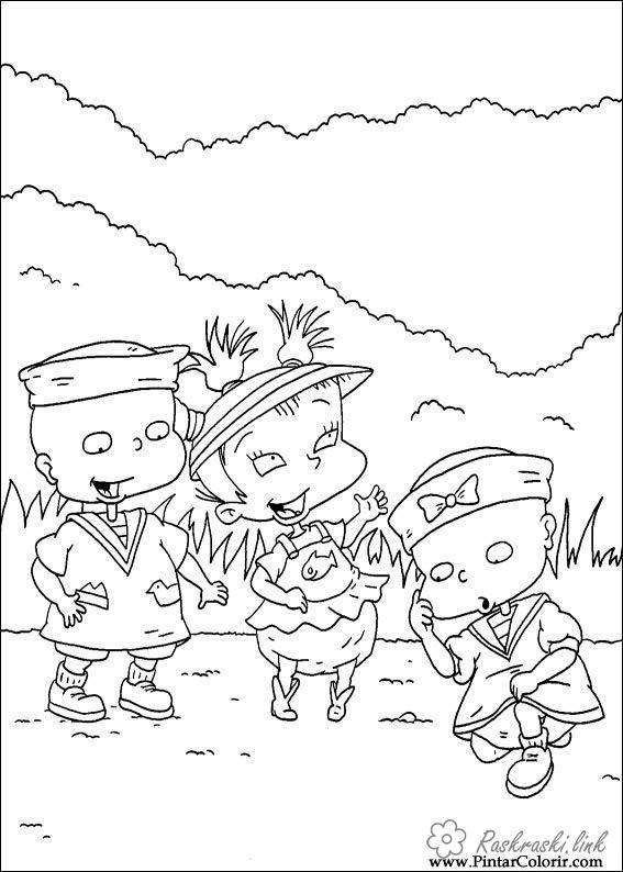 раскраски на тему ох, уж эти детки        раскраски на тему ох, уж эти детки для мальчиков и девочек. Интересные раскраски с персонажами мультфильма ох, уж эти детки для детей