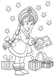 раскраски на тему день подарков для мальчиков и девочек. Интересные раскраски с подарками для детей. Раскраски с днем подарков для детей