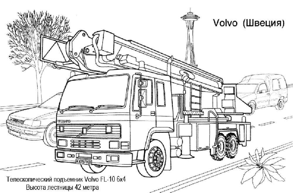 раскраски для мальчиков с грузовиками раскраски с грузовиками
