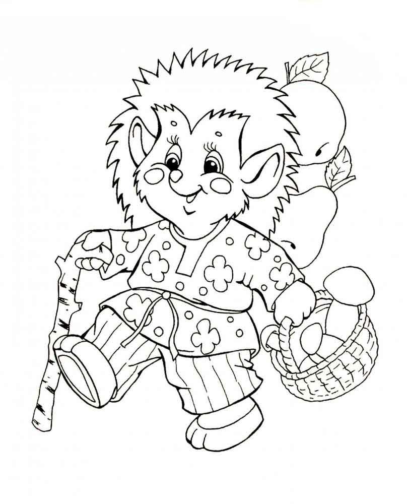 раскраски для детей с животными из сказок раскраски для