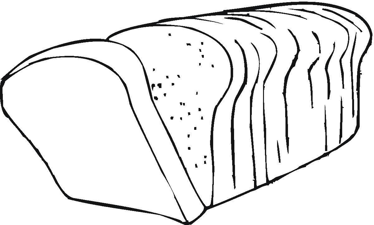 Хлеб. Раскраски на тему еда, хлеб, выпечка. Раскраски для детей на тему еда. Раскраски хлеб. Скачать раскраски с изображением хлеба.