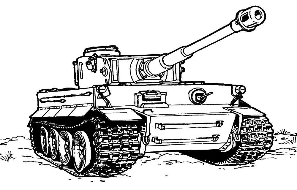 раскраски для детей с танками скачать бесплатные раскраски