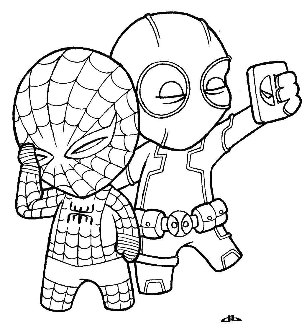 раскраски с героями комиксов скачать бесплатно раскраски с ...