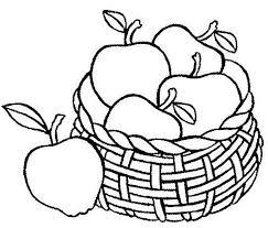раскраски для малышей раскраски для детей с фруктами ...