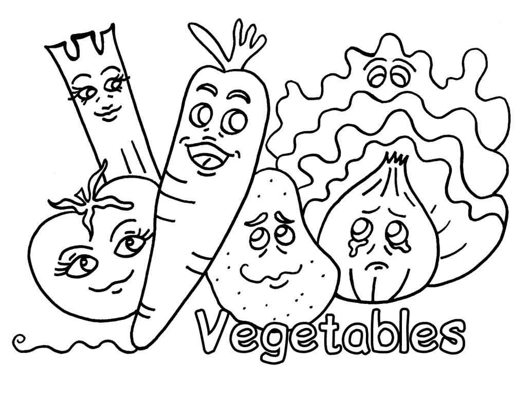 Раскраски для детей на тему еда. Раскраски на тему здоровая пища. Раскраски для детей, прививающие правильные привычки в еде.  Раскраски с овощасми, фруктами.