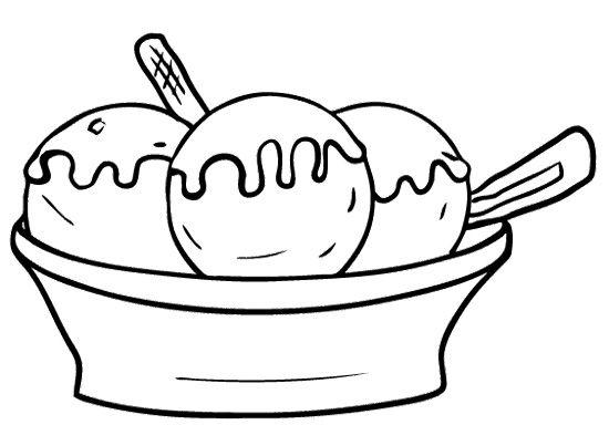 Раскраски для детей на тему еда. Раскраски на тему мороженое.   Мороженое. Еда. Сладости. Раскраски для детей на тему еда. Раскраски на тему мороженое.