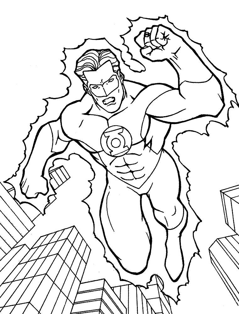 раскраски для детей героями комиксов раскраски с