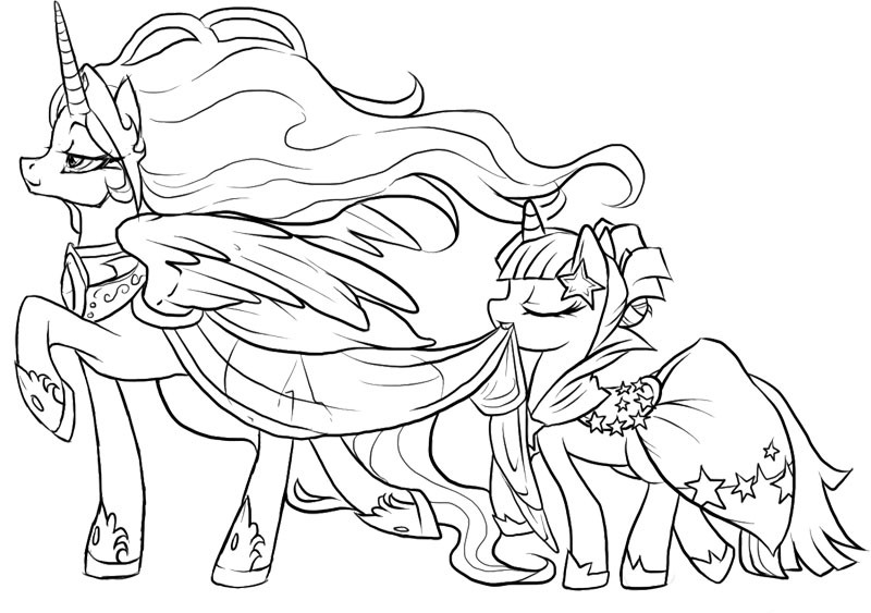 раскраски для детей с май литл пони раскраски для детей с