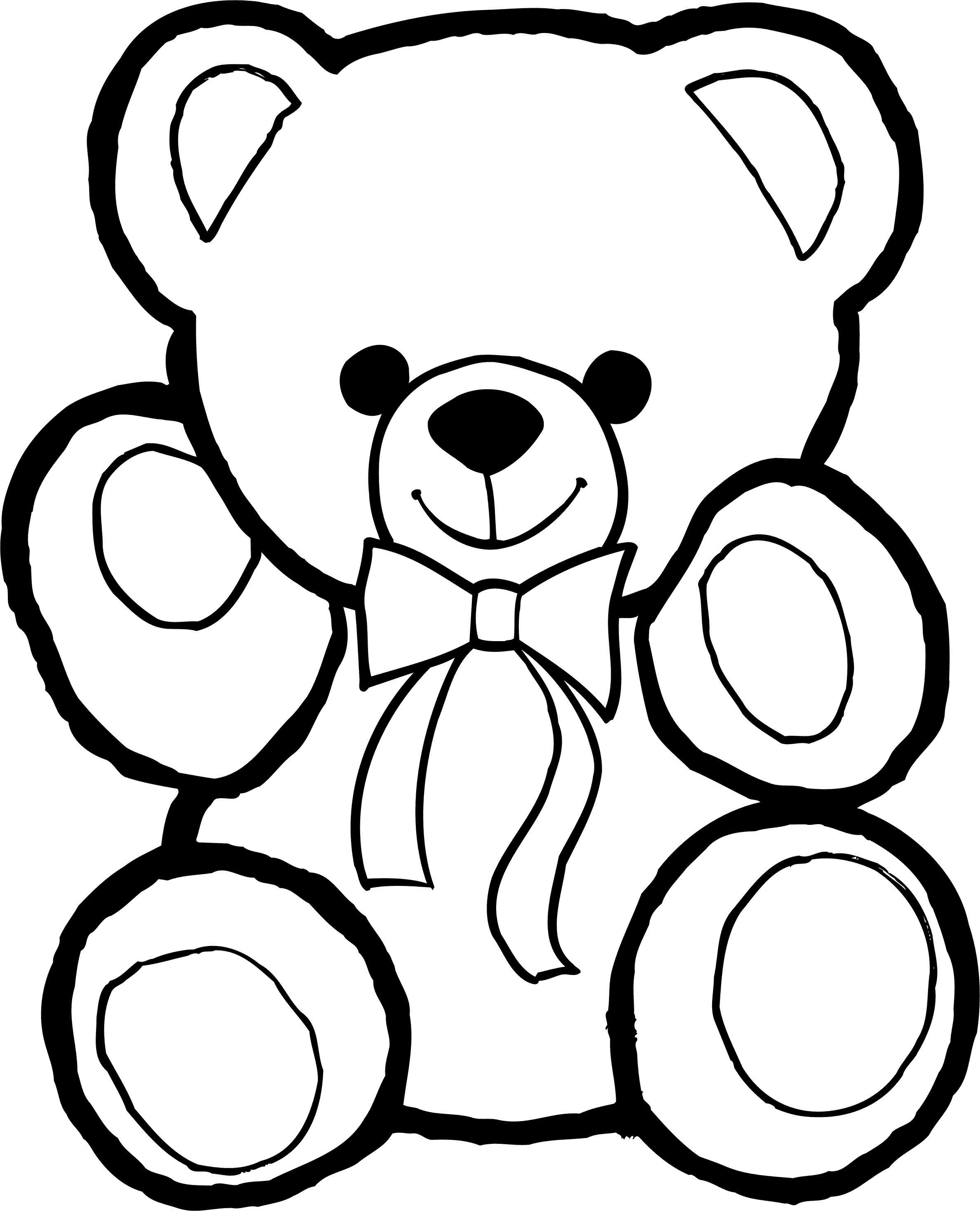 раскраски с мишками тедди милые и красивые раскраски для