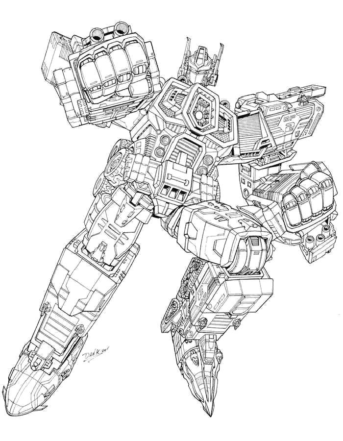 Раскраски Трансформеры Раскраски из мультфильма Трансформеры для мальчиков