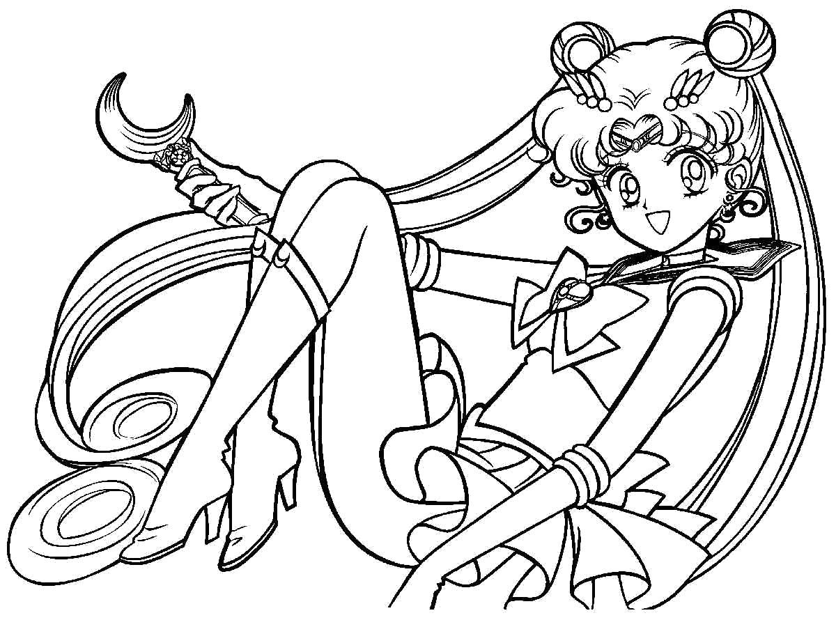 Раскраски аниме Раскраски аниме для подростков