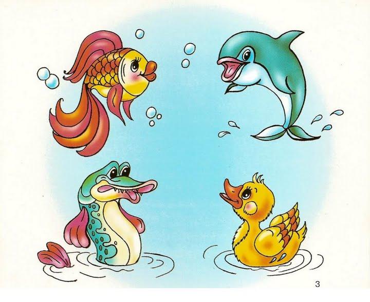 Игра Найди лишнее Игра Найди лишнее для детей в цветных картинках и в виде обучающих раскрасок