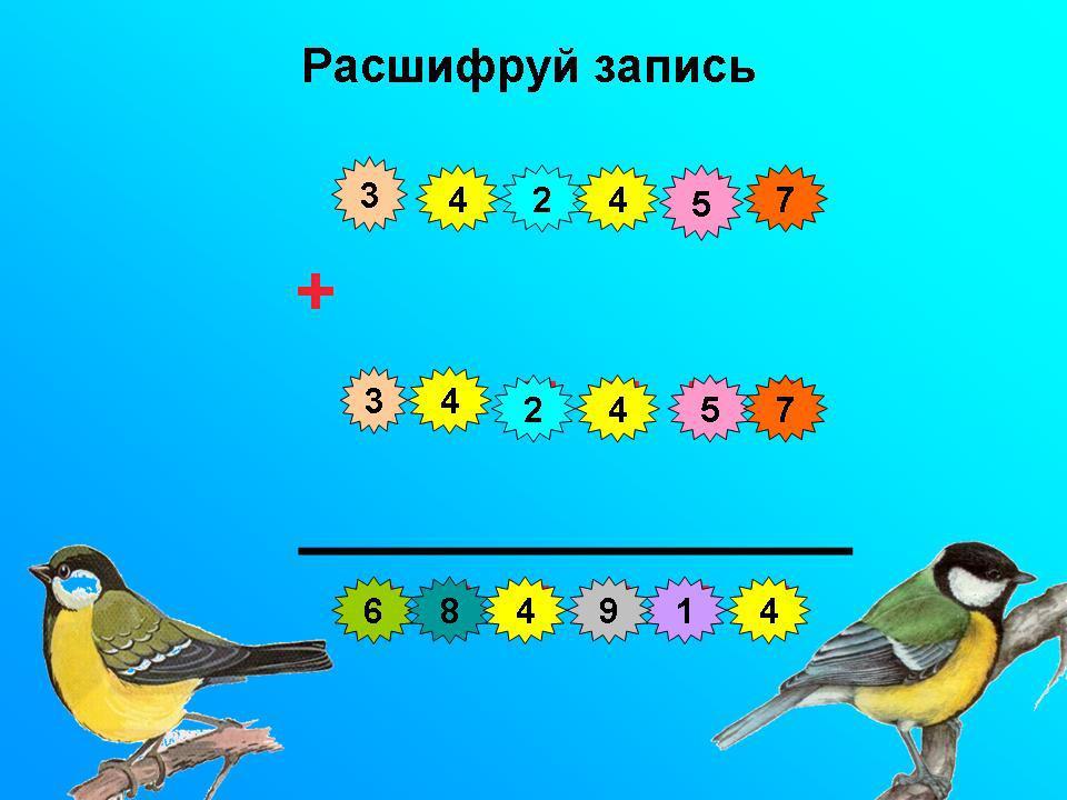 Шифровки Шифровки, игры на логическое мышление для детей школьного возраста