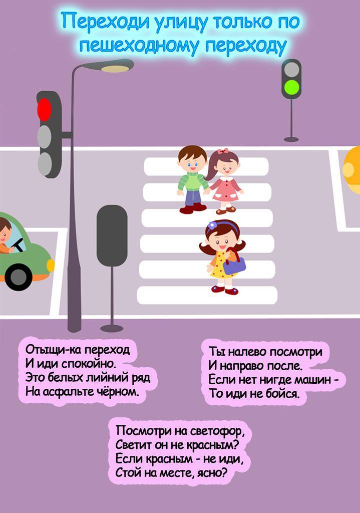 Правила дорожного движения в картинках Правила дорожного движения в картинках и стихах, учим правила дорожного движения с детьми