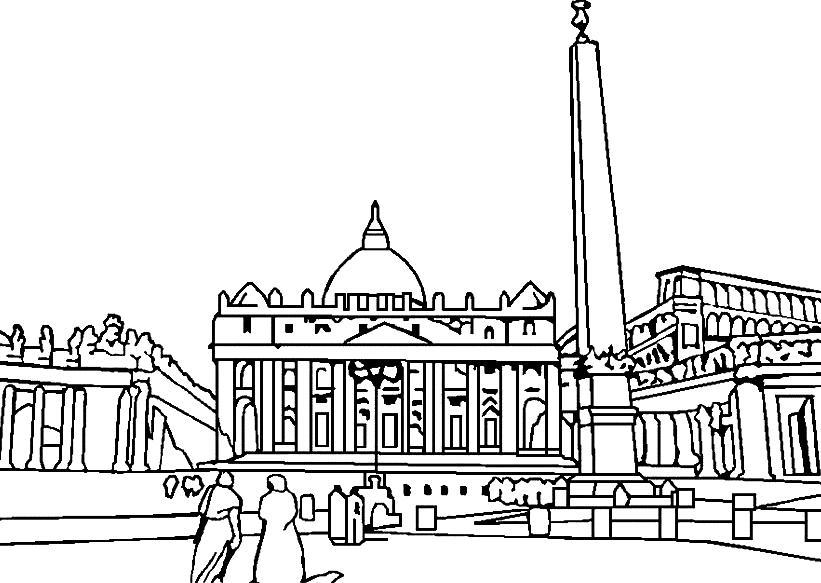 Раскраски Архитектура Раскраски Архитектура, раскраски домов и замков, раскраски современных и древних городов