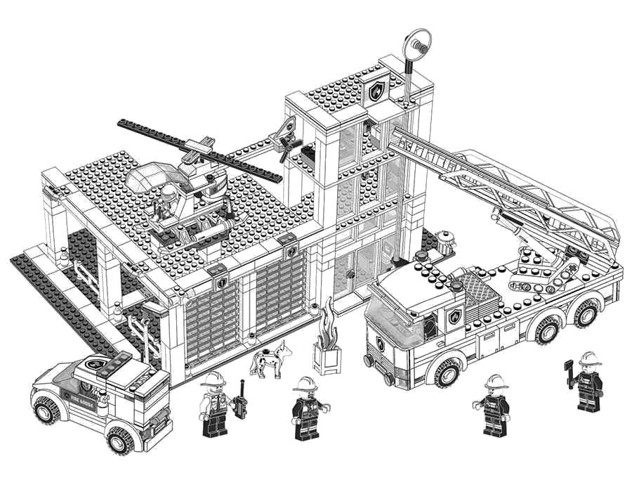 Раскраски Лего Раскраски Лего конструктора, лего фигурки