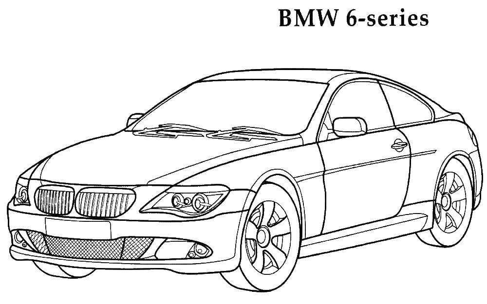 Раскраски Машины BMW Раскраски Машины BMW. Раскраски для мальчиков с машинами марки BMW