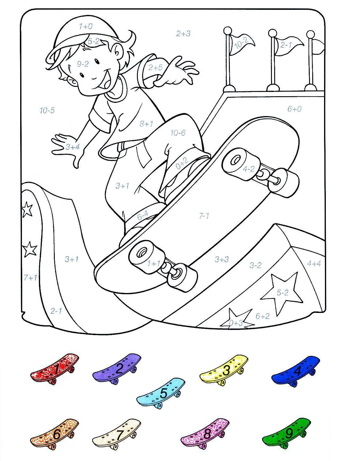 Раскраски скейтбординг Раскраски скейтбординг, раскраски соревнования, раскраски кататься на скейтборде