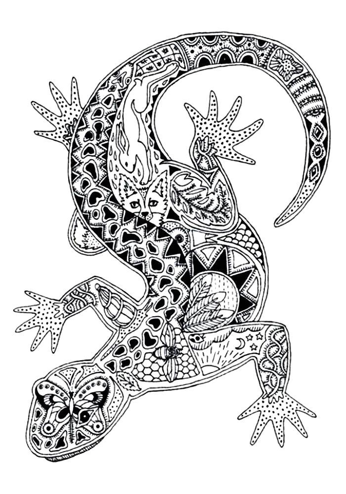 Раскраски загадочные животные Раскраски загадочные животные. Раскраски антистресс красивых животных сложные и простые