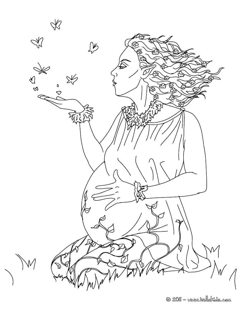 Беременность в раскрасках Раскраски из серии беременность в раскрасках для женщин, для будущих мам